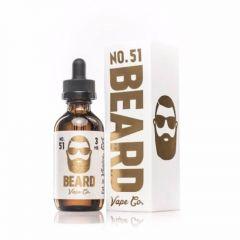 Beard 51 Custard flavor