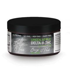 Delta 8 thc green apple gummy rings by Bottle & Tree