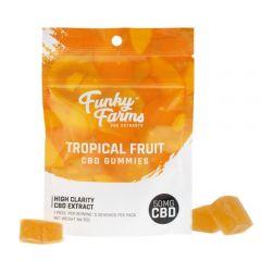 Funky Farms Tropical Fruit cbd gummies