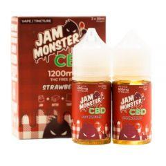 Jam Monster CBD vape juice - strawberry jam