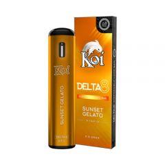Koi Delta 8 THC vape - sunset gelato