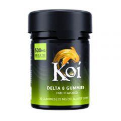 Koi - Delta 8 THC Gummies - Lime 500mg