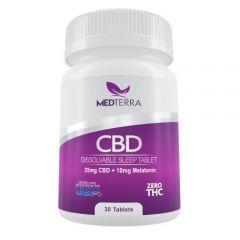 CBD-Melatonin sleep tablets