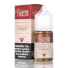 NKD 100 American Patriots tobacco salt nic
