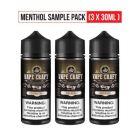 Menthol Sample Vape Juice